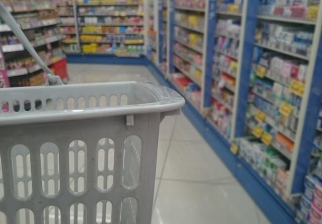 暇なスーパー内の薬局でのアルバイト