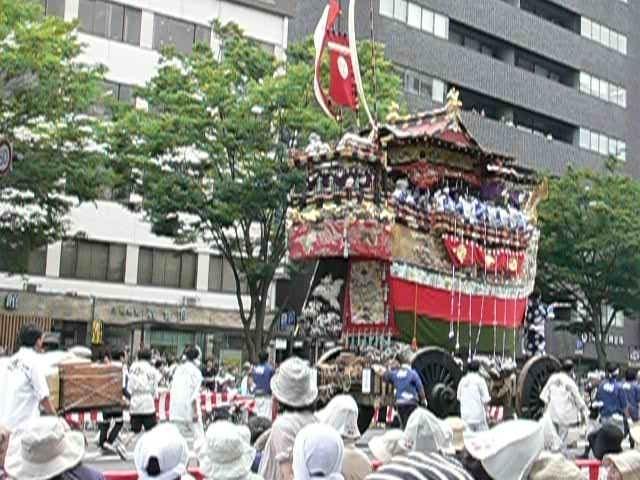 京都時代祭の参列バイト体験談