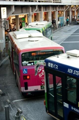 バスの乗降人数調査は楽ちんでした